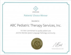 Marietta Patient's Choice Award